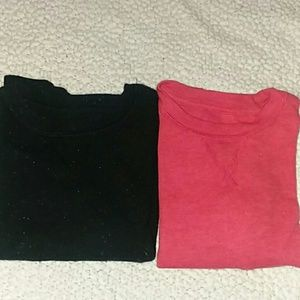 Bundle of 2 Cat & Jack thermal shirts